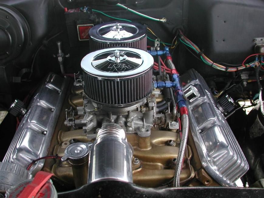 My Olds - Engine Front