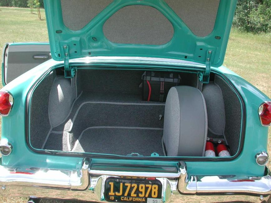 My Olds - Trunk Opened