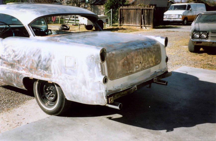 Paint Shop - Rear - Paint Stripped
