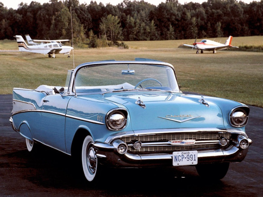 1957_Chevrolet_Bel_Air_convertible