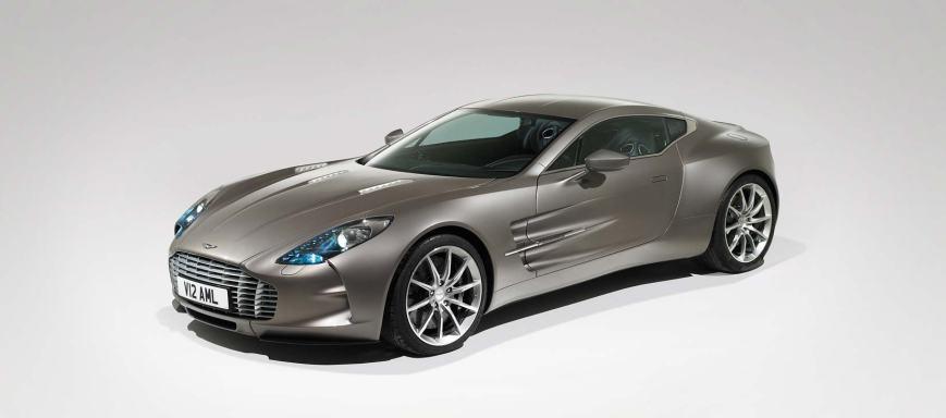 2-Aston Martin One-77