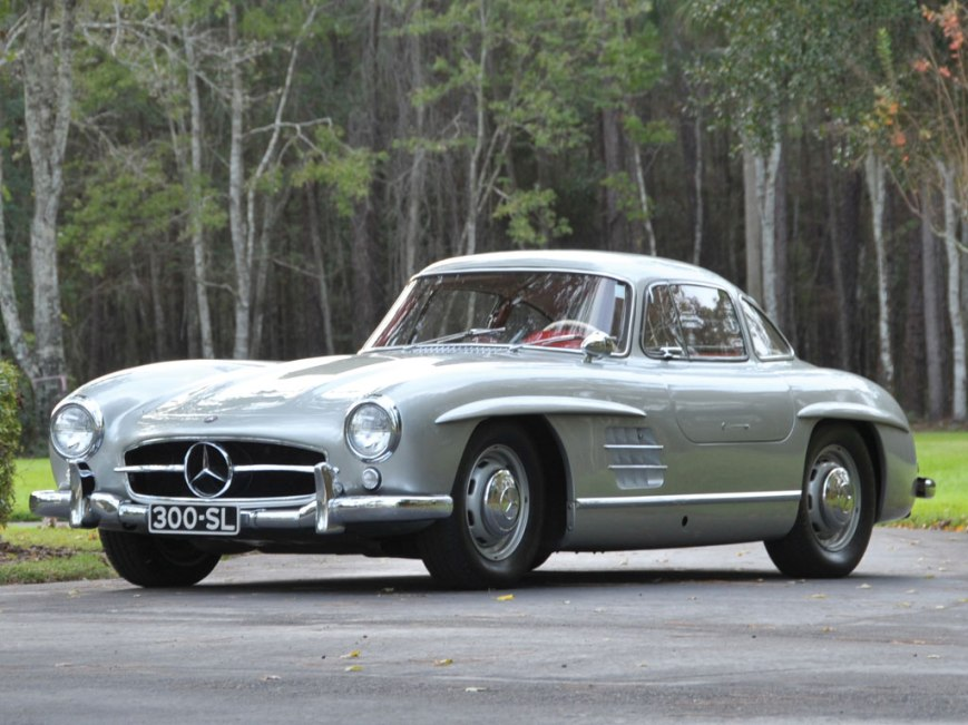 4-Mercedes-Benz 300SL