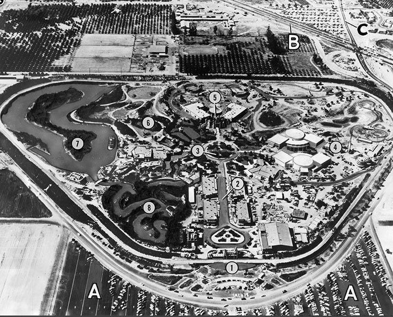 Disneyland Overhead