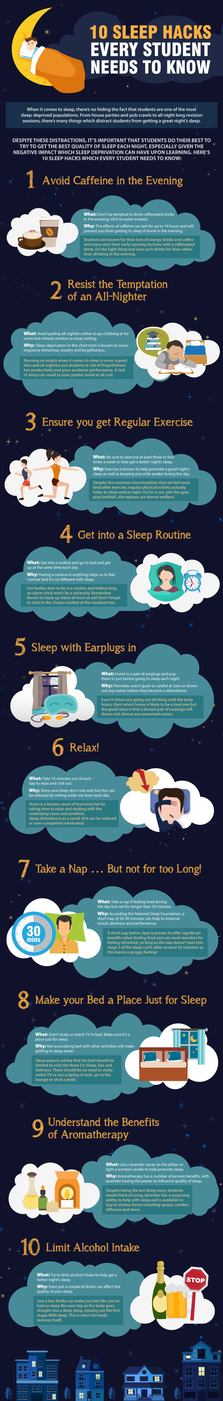 10 sleep hacks