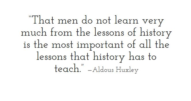 Huxley on History