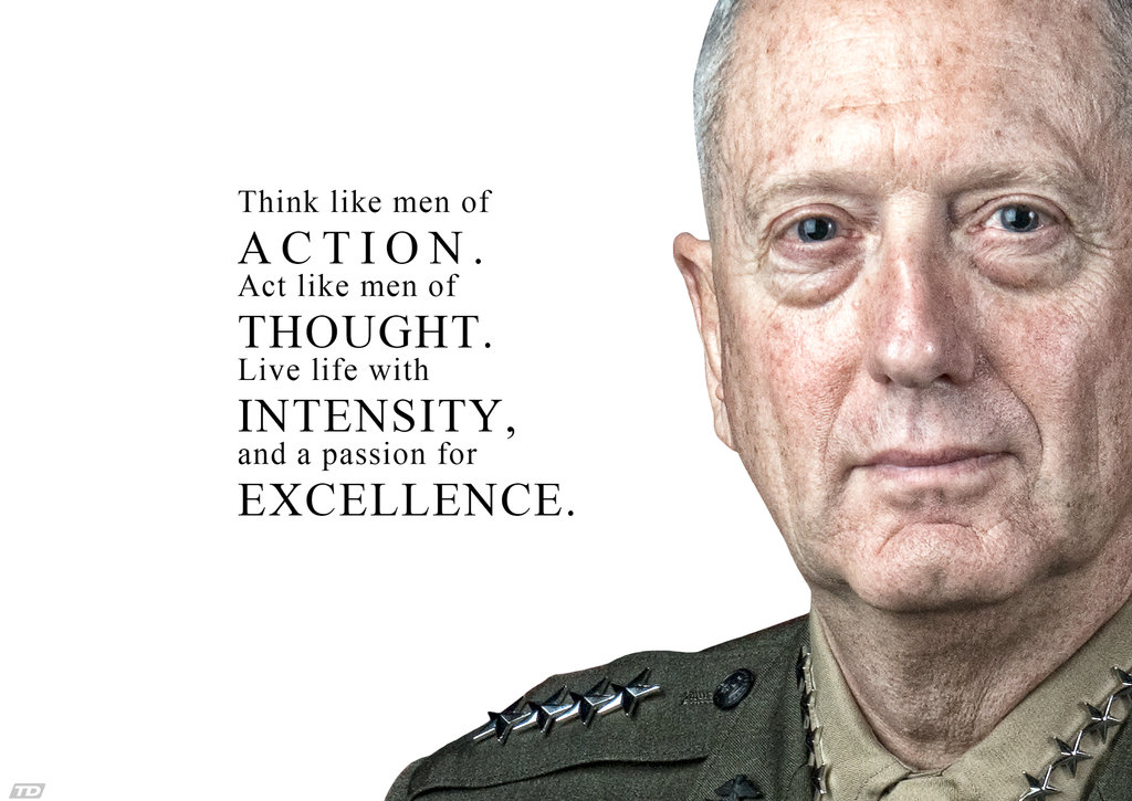Some Great General James 'Mad Dog' Mattis Quotes ...