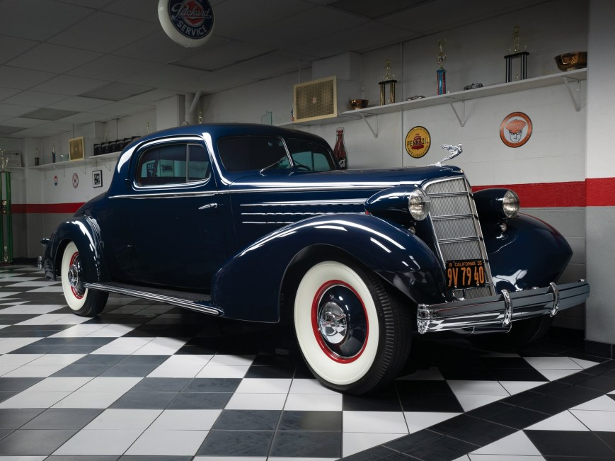 1935 Cadillac Fleetwood V-16 3-Window Coupe