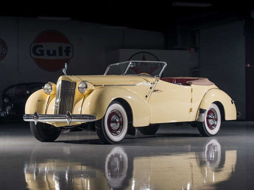 1939 Packard One Twenty Convertible Victoria by Darrin